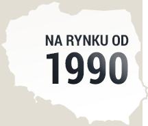na rynku od 1990